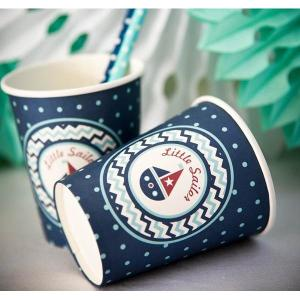 Little Sailor Paper Cups (8)