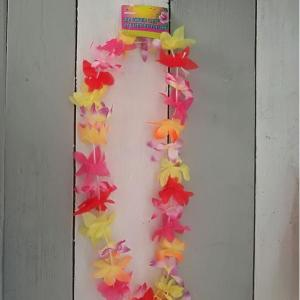 Luau Tropical Flower Leis 40""