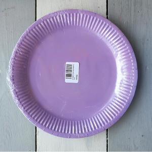 Lavender Paper Plates (10)