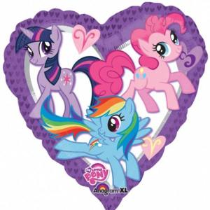 My Little Pony Heart Balloon