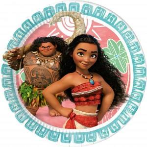 Moana Party Paper Plates (8)
