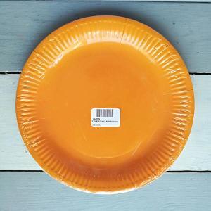 Orange Paper Plates (10)