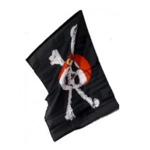 Pirate Flag with Stick Large (95cm x 60cm)