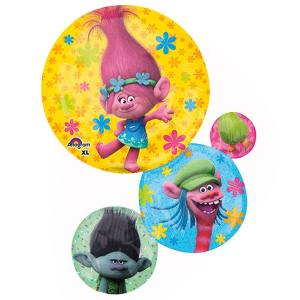 Trolls 3 Bubble Supershape Balloon