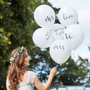 Botanical Wedding Balloon Bundle (6)