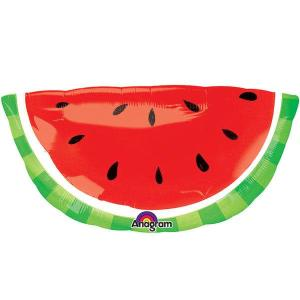 Tropical Watermelon Supershape Foil Balloon