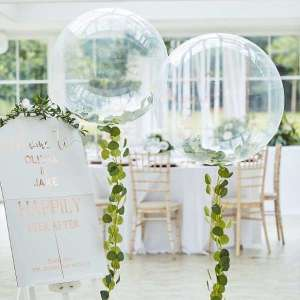 Botanical Wedding Orb Balloon Foliage Kit