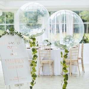 Botanical Wedding Orb Balloon Foliage Kit