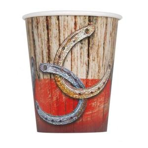 Western Rodeo Paper Cups (8)