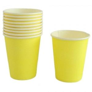 Yellow Paper Cups (10)