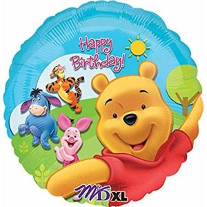 Pooh and friends 18 inch Foil Balloon