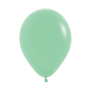 Mint Green Latex Balloons (5)