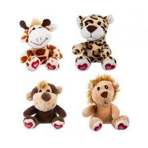 Animal Jungle Mini Plush Toys assorted designs