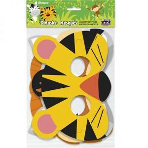 Animal Jungle Paper Masks (8)