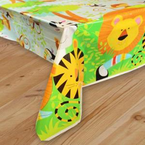 Animal Jungle Plastic Tablecover