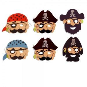 Pirate Foam Masks (12)