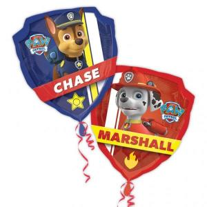 Paw Patrol Balloon Marshall and Chase Supershape Balloon