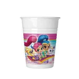 Shimmer and Shine Glitter Friends Plastic Cups(8)