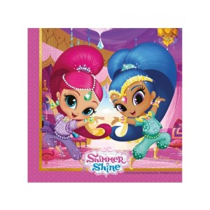 Shimmer and Shine Glitter Friends Napkins(20)
