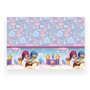 Shimmer and Shine Glitter Friends Plastic Table Cover