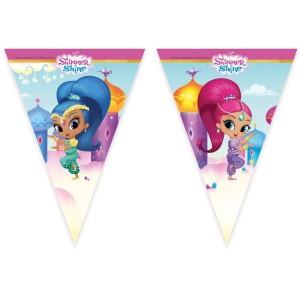 Shimmer and Shine Glitter Friends Plastic Flag Banner