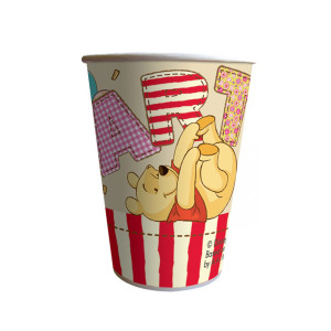 Winnie the Pooh Alphabet Paper Cups (8)