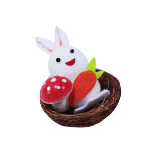 Bunny in Nest