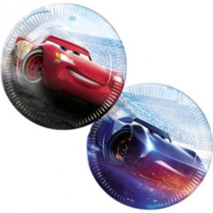 Cars Legend of the Track Paper Plates (8)
