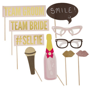 Pastel Perfection Photo Booth Props