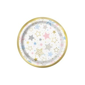Twinkle Twinkle Little Star Dessert Plates (8)