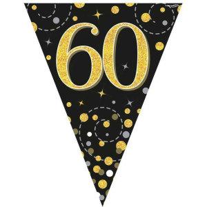Sparkling Fizz Bunting 60th Birthday