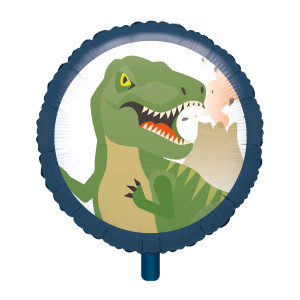 Dinosaur Dinomite Foil Balloon 18 Inch