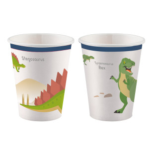 Dinosaur Dinomite Paper Cups (8)