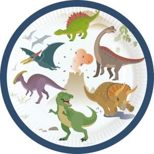 Dinosaur Dinomite Paper Plates (8)