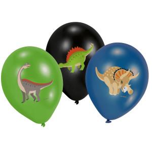 Dinosaur Dinomite Latex Balloons (6)