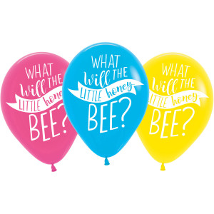 What Will It Bee Latex Balloons (6)