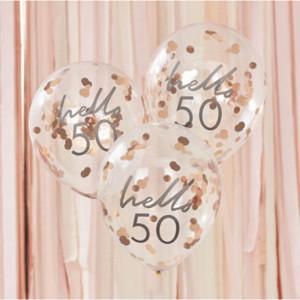 Mix It Up Hello 50 Confetti Balloons (5)