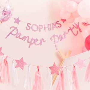 Pamper Party Customisable Pamper Party  Bunting