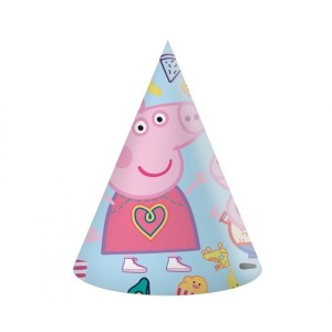 Peppa Pig Paper Party Hats (6)