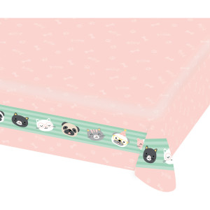 Pet Pawty Paper Tablecover