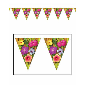 Luau Solid Colours Bunting