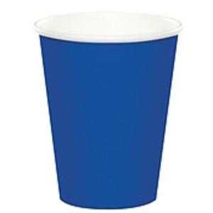 Royal Blue Paper Cups (10)