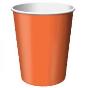 Orange Paper Cups (10)