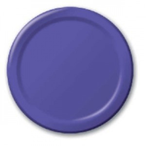 Violet Paper Plates 10