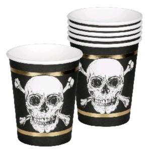 Pirate Paper Cups (6)