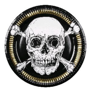Pirate Paper Plates (6)