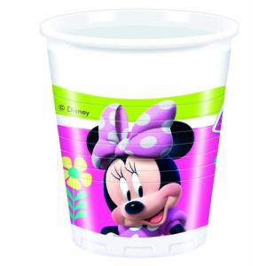 Disney Minnie Plastic Cups (8)