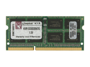 Kingston 2GB Valueselect DDR3-1333 So-Dimm
