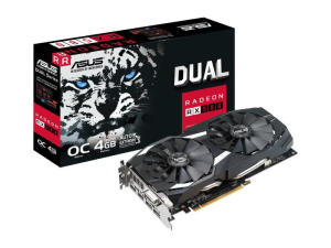 Asus Dual RX 580 4GB GDDR5 Graphics Card