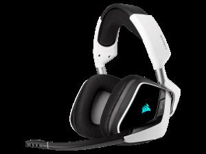Corsair Void RGB Elite Wireless 7.1 Surround Sound White Premium Gaming Headset